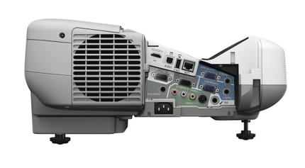 Epson PowerLite 485W Multimedia Projector side A