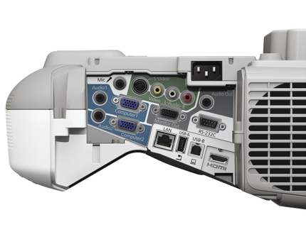 Epson PowerLite 485W Multimedia Projector side B