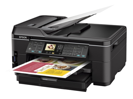 Epson WorkForce WF 7510 All-in-One Printer left angle