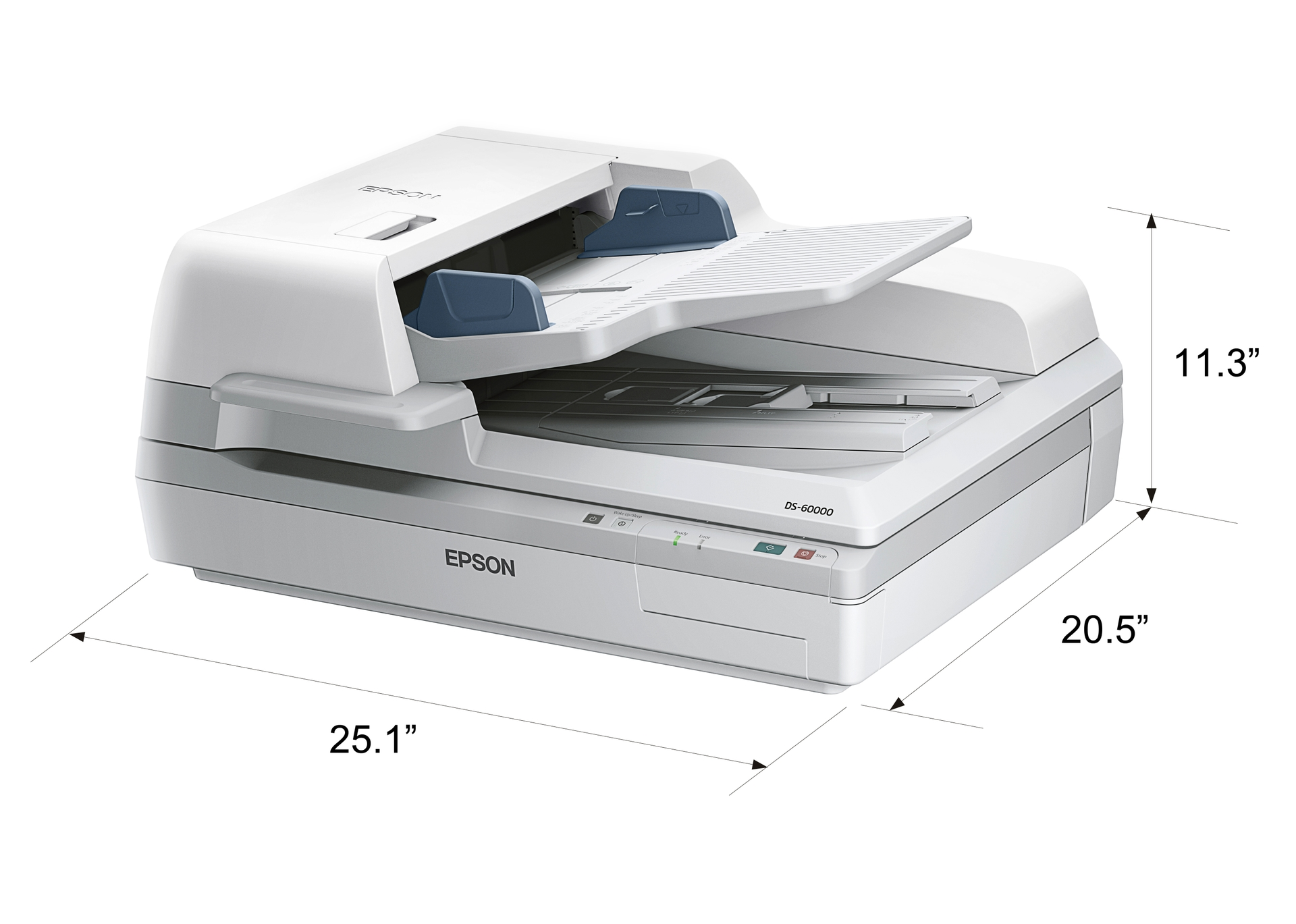 DS 60000 DIM INCHES