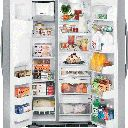 GE® 29.1 cf. SxS Refrigerator