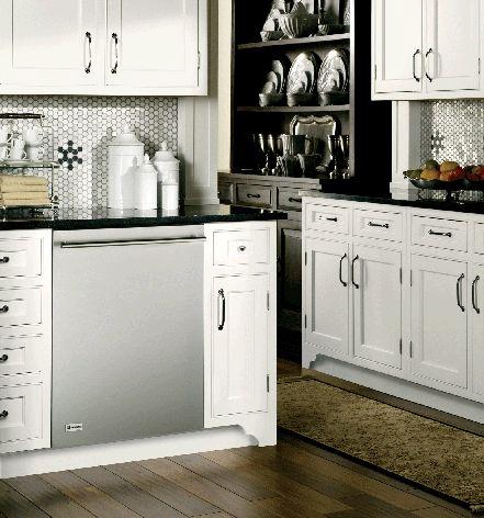 GE Monogram® fully-integrated dishwasher