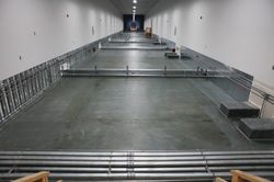 GE Appliances & Lighting Data Center — Floor Cooling System