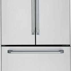 GE Cafe™ 20.7-cu.-ft. counter-depth French-door refrigerator