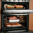 GE Profile™ double-oven gas range (Model PGB995SETSS)