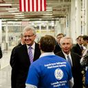 GE Chairman Jeff Immelt and Kentucky Governor Steve Beshear