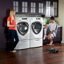 GE Profile frontload washer and dryer