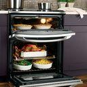 GE Profile™ double-oven gas range (Model PGB995SETSS)