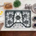 GE Café™ gas cooktop (model CGP350SETSS)