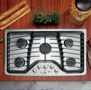 GE Profile™ gas cooktop (model PGP976SETSS)