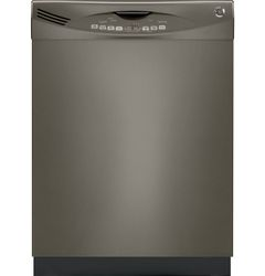 GE® dishwasher with Slate finish (Model GDWF150VES)