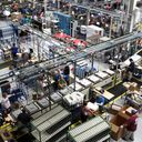 GE dishwasher production line