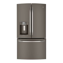 GE® French door refrigerator with Slate finish (Model GFE29HMDES)