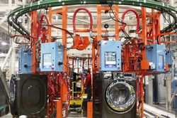 GE frontload laundry production line