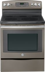 Slate Free-Standing Electric Convection Range (Model JB690EFES)