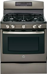 Slate Free-Standing Gas Convection Range (Model JGB750EEFES)