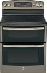 Slate Free-Standing Electric Double Oven Range (Model JB850EFES)
