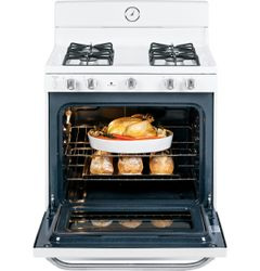 GE Artistry™ Series Freestanding Gas Range (Model AGBS45DEFWS)