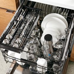 Third Rack's a Charm; GE Appliances Makes Dishwasher Loading Smart and Easy