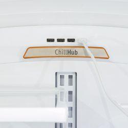 ChillHub USB hub in use