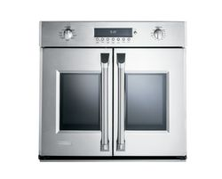 GE Monogram® French door wall oven (model ZET1FHSS)