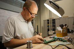 Robby Sanders, Product Development Technician
