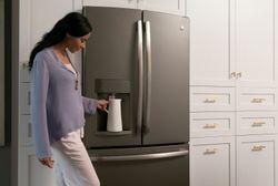 Slate French door refrigerator