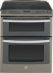 GE Profile™ Slide-In Electric Range in Slate