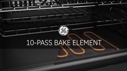 10-Pass Bake Element