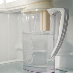 Your Glass Is Always Full with FirstBuild's Autofill Pitcher – It Automatically Refills Itself
