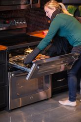 Easy Load Oven Drawer