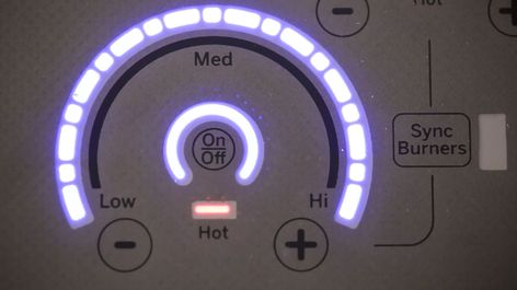 Induction Glide Touch Controls