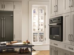 GE Brings Superior Craftsmanship, Sophisticated Design to the Kitchen with Graphite Finish for Monogram®
