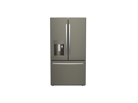 GE Profile refrigerator with Keurig K-Cup Brewing System in Slate