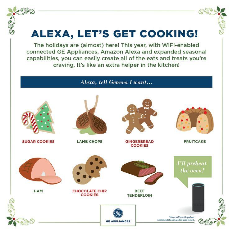 Alexa, Let's Get Cooking