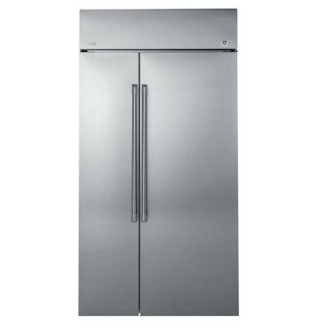 GE Café™ Series Built-In, Side-By-Side Refrigerator (CSB42WSKSS)