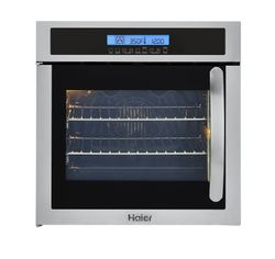 "24"" Single 2.0 Cu. Ft. Left/Right Swing True European Convection Oven, HCW225LAES"