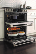 Renovate Your Kitchen and Your Cooking with New GE Appliances Slide-In Ranges