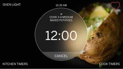 A Smarter Oven: LCD Screen Display Unlocks Wall Oven Potential