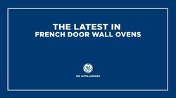 The Latest in French Door Wall Ovens