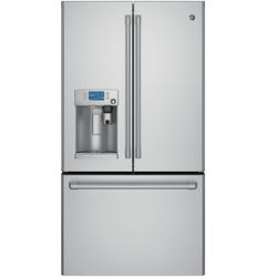 Stainless Steel GE Cafe Refrigerator (Model CFE28USHSS)
