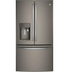 Slate GE Profile Refrigerator (Model PFE28PMKES)