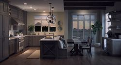 Dark Monogram Kitchen