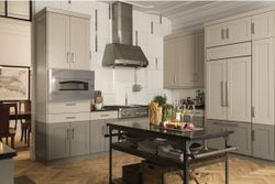 Kitchen Environment with the Monogram Standout Pizza Oven