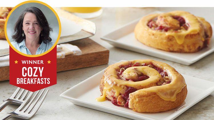 Pillsbury Bake-Off® winning recipe: Bejeweled Cranberry-Orange Rolls