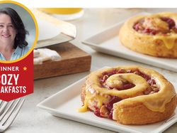 Pillsbury Bake-Off® winning recipe: Bejeweled Cranberry-Orange Rolls