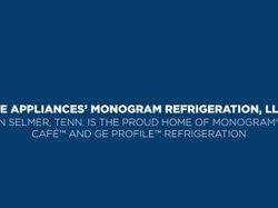 Monogram® Columns Refrigerator and Freezer B-roll