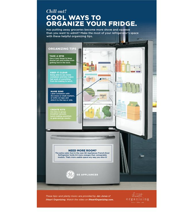Cool Ways to Organize Your Fridge