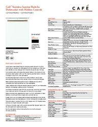 CDT866P4MW2 - Dishwasher - $1749