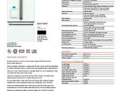 CYE22TP4MW2 -Refrigerator - $3399